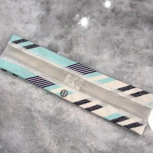 Lululemon Fly Away Headband Multi colored Rare
